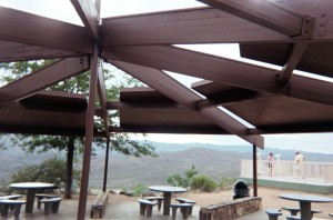 Sitting area at Sunset Point