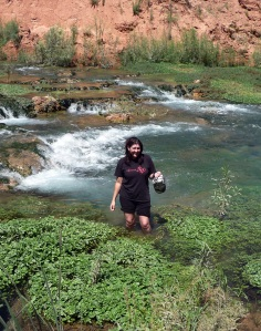 Jenifer DeLemont in the Grand Canyon