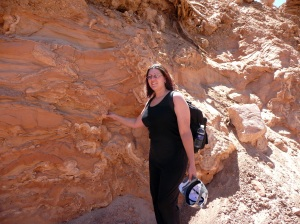 Me with niffty sandstone in the canyon