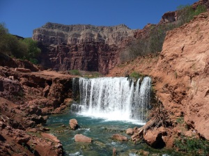 Havasu Falls inside The Grand Canyon