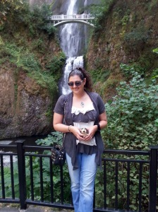 me at multnomah falls