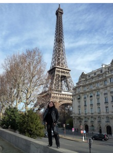 Jenifer DeLemont in Paris