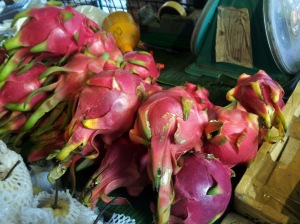 pile of dragon fruit