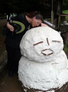 snowman_kiss