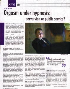SPM Orgasm