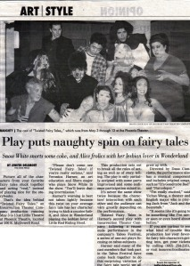 State Press Magazine twisted fairy tales