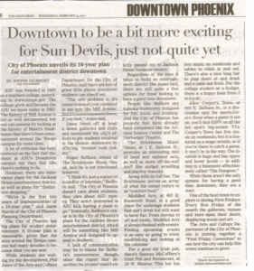State Press News Downtown Phoenix
