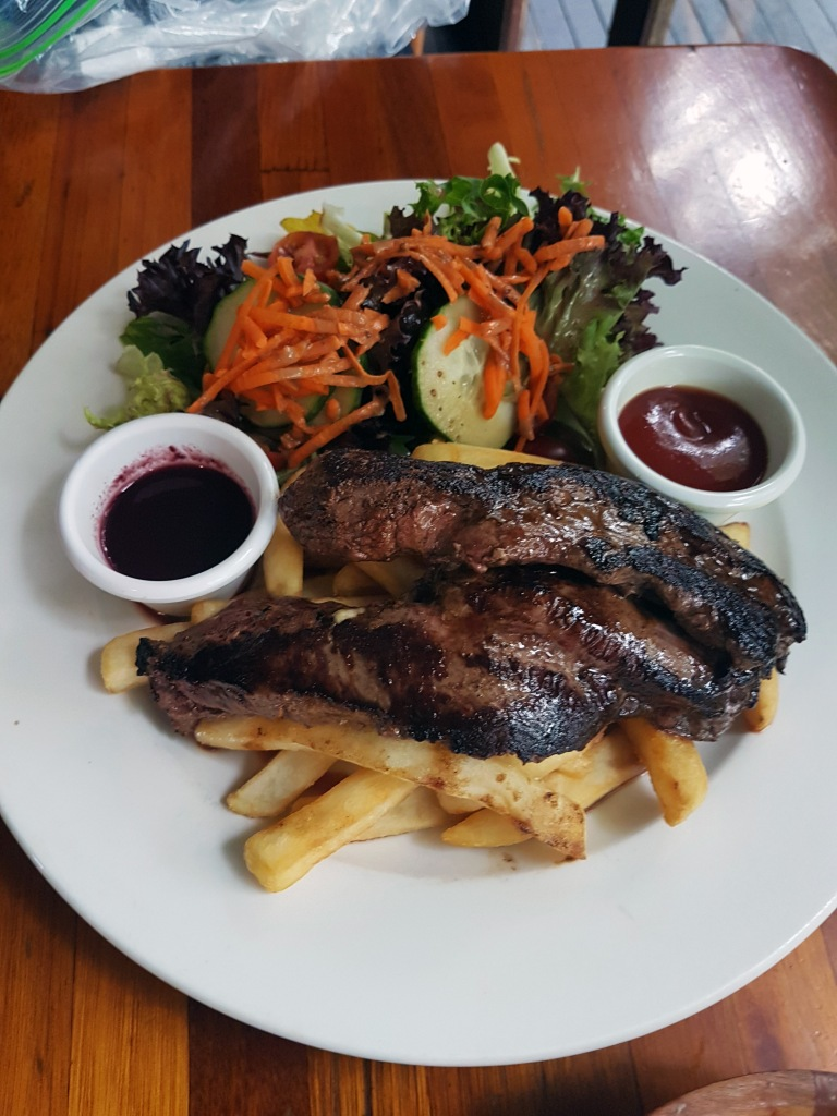 kangraroo steak