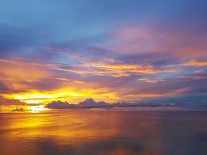 aweome sunset