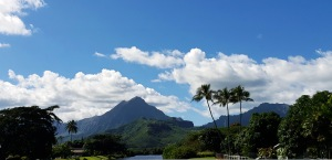 view from kailua