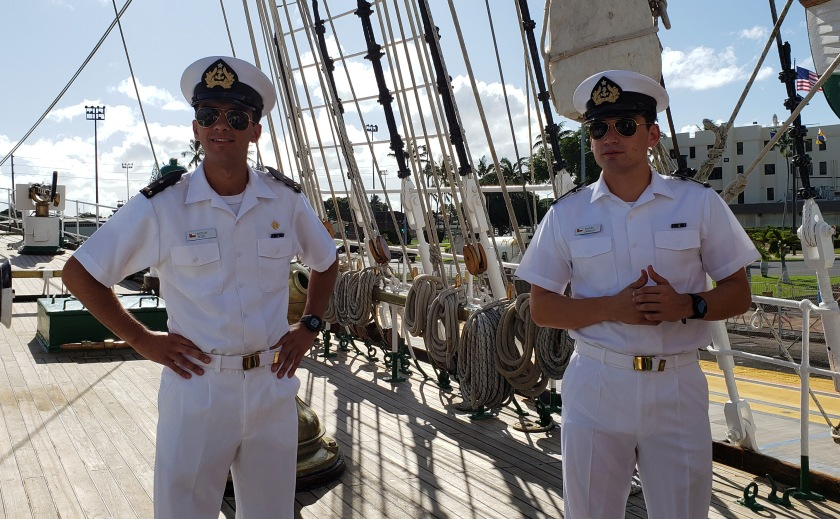 chilean sailors